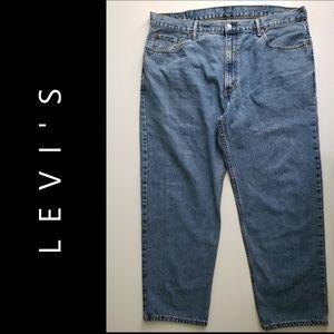 Levi's 550 Men Denim Blue Straight Jeans Size 42